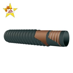 RUBBER SUCTION HOSE WITH...