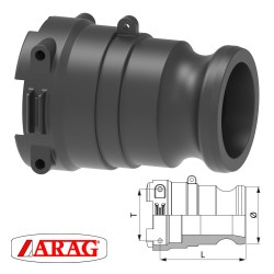 """""""CAMLOCK"""" ADAPTER WITH..."""