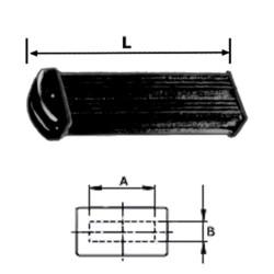 PVC-FLAT HANDLE