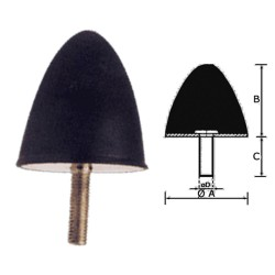 VIBRATION - DAMPERS WITH SCREW