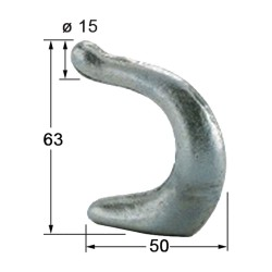 FORGED HOOK, HEAVY