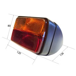 2 REAR LIGHT